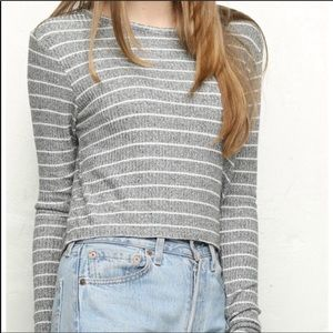 Brandy Melville Ribbed Striped Sweater